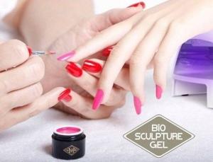 Наращивание ногтей биогелем BSG